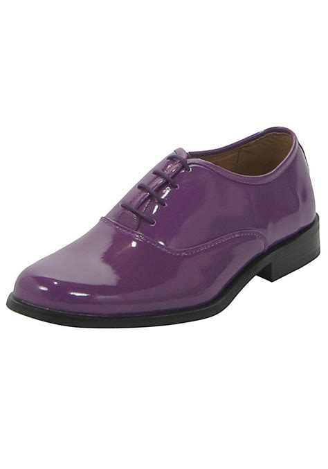 Purple Shoes by Purple Tux Shoes