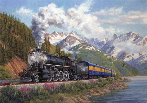 tell me something artist interviews from the rail books this painting makes me want to ride that