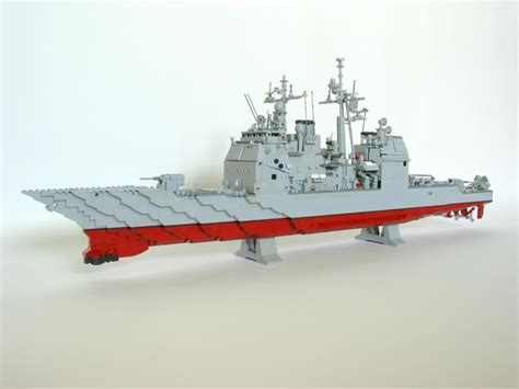 lego army boats lego us navy ticonderoga class guided missile cruiser with