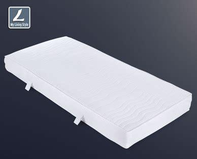 matratze taschenfederkern my living style komfort matratze taschenfederkern hofer