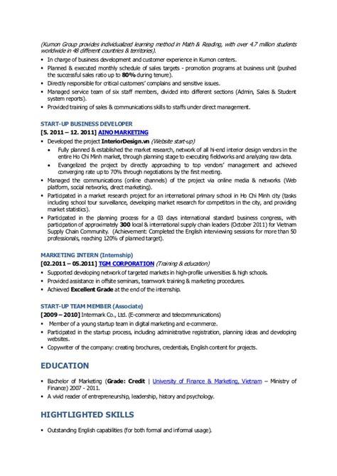 kumon resume resume ideas