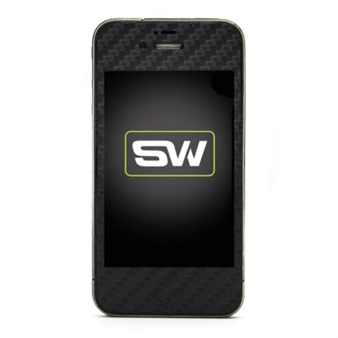 Promo Garskin Carbon Black Iphone 4 4s 5 5s 6 6s 6plus iphone 4s black carbon skins covers and cases from slickwraps