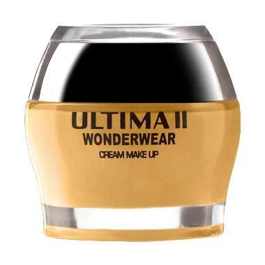 Ultima Ii Wonderwear Creme Makeup foundation ultima ultima ii jual produk terbaru