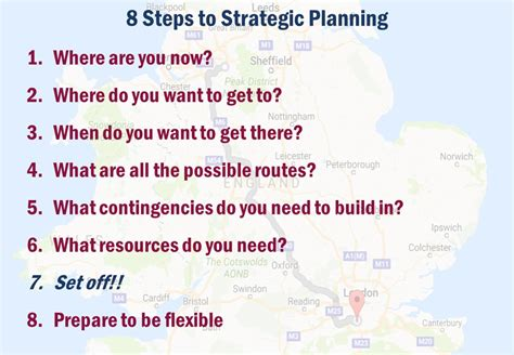 8 Steps To by 8 Steps To Strategic Planning Uk Business Mentoring