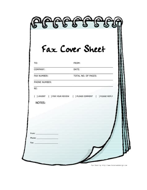 free cover templates free printable fax cover sheets free printable fax cover