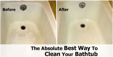 the best way to clean a bathtub the absolute best way to clean your bathtub how to