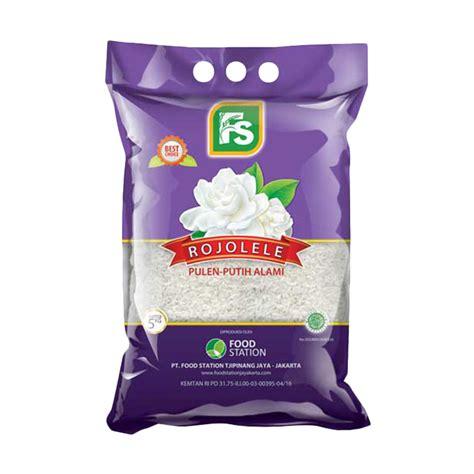 Beras Rojolele Fs Premium 5kg jual fs melati rojolele beras 5 kg harga