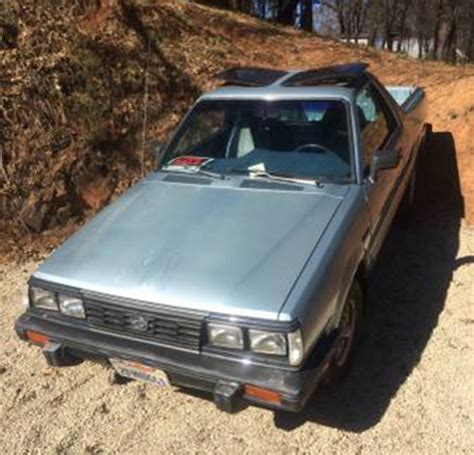 subaru brat for sale craigslist 1986 subaru brat for sale in gold country california