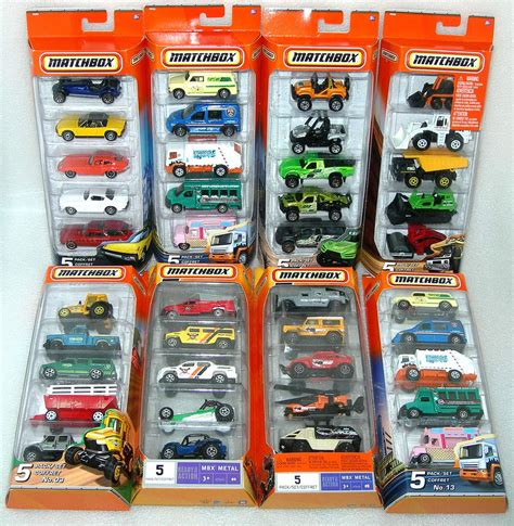 Matchbox Mazda 2 From Giftpack matchbox 5 car pack assorted packs brand new sealed