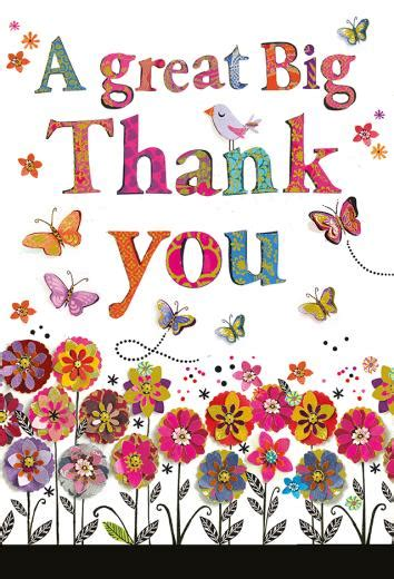 A Great Big Thankyou by Great Big Thank You Large Card Artisan 163 3 50 A Great