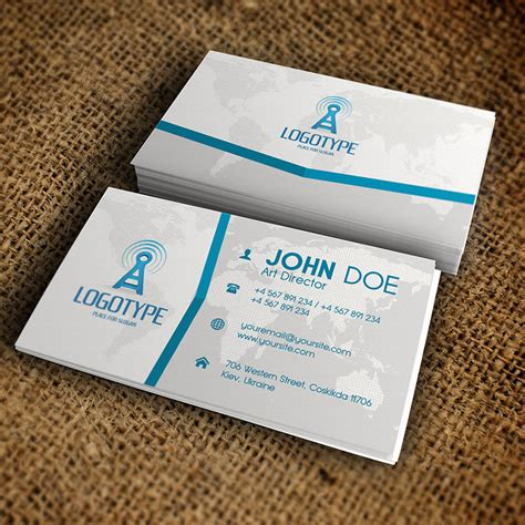 premium business card templates corporate blue business card premium business card
