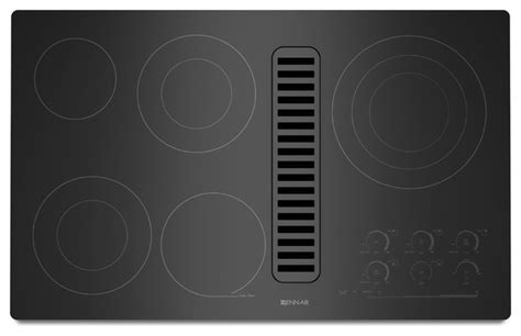 jenn air radiant cooktop jenn air 36 quot electric radiant downdraft cooktop black on