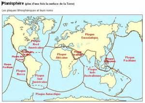 plaque tectonique nom