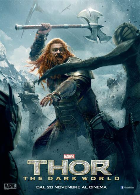film thor italiano thor the dark world il character poster italiano con ray