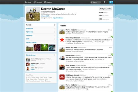 twitter new layout twitter introduces major redesign here s how to get it