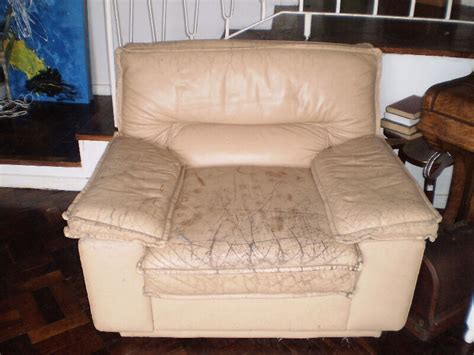 vintage genuine leather couch  seater cappuccino