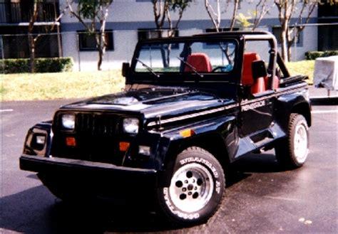 1991 Jeep Renegade Parts Rat Patrol