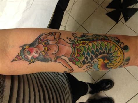 deluxe tattoo deluxe tattoos dustin golden mermaid