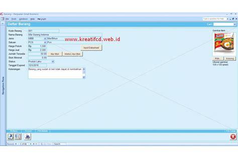 Aplikasi Program Penjualan Small New 2014 software penjualan stok barang small edition new 2014