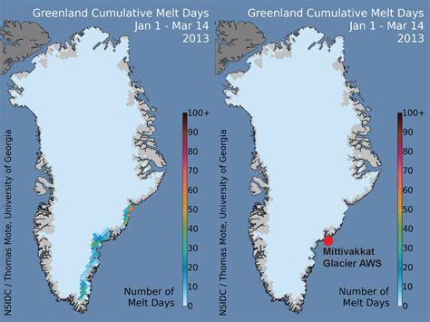Greenland ice melt overestimated due to satellite data