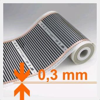 infrarotheizung wohnwagen elektrische infrarot fu 223 bodenheizung thermofolie 13 50
