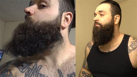 how to put in a beard how i straighten my beard like a curly beard