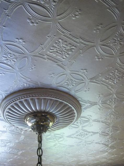 pinterest wallpaper ceiling closeup of anaglypta wallpaper and ceiling medallion