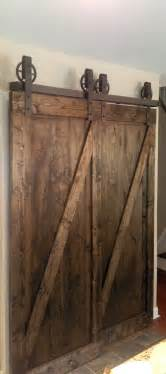 Barn Door Closet Hardware Bypass Vintage Spoked Sliding Barn Door Closet Hardware