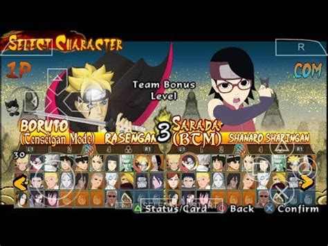 cara mod game naruto ultimate ninja storm revolution download video download game ppsspp android naruto storm