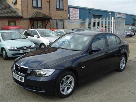 download car manuals 2008 bmw 3 series security system used bmw 3 series 2008 petrol 318i es 143 saloon blue edition for sale in fengate uk autopazar