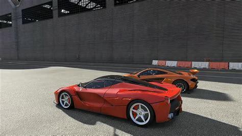 laferrari crash test mclaren p1 vs laferrari literally