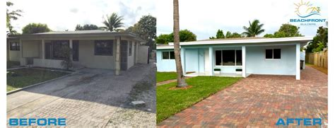 renovating and flipping houses beach house flip delray beach florida beachfront builders