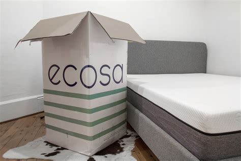mattress in a box mattress in a box ecosa unboxing