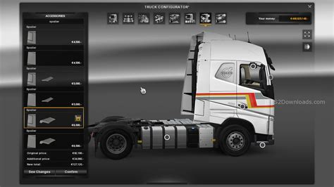 latest volvo truck new volvo fh v2 4 euro truck simulator 2 mods