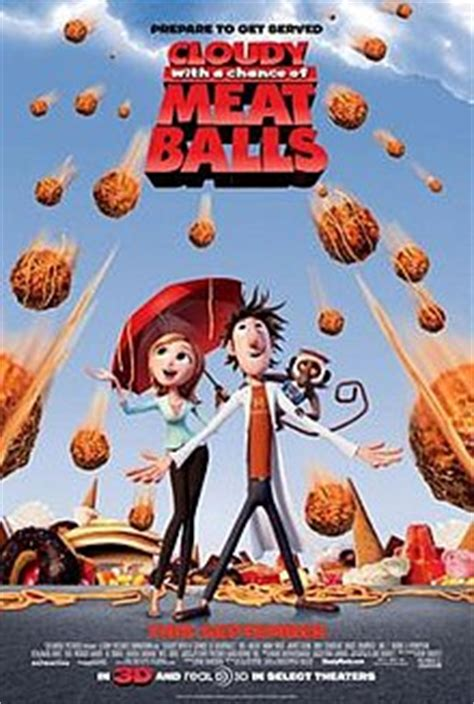 film cartoon food cloudy with a chance of meatballs film wikipedia
