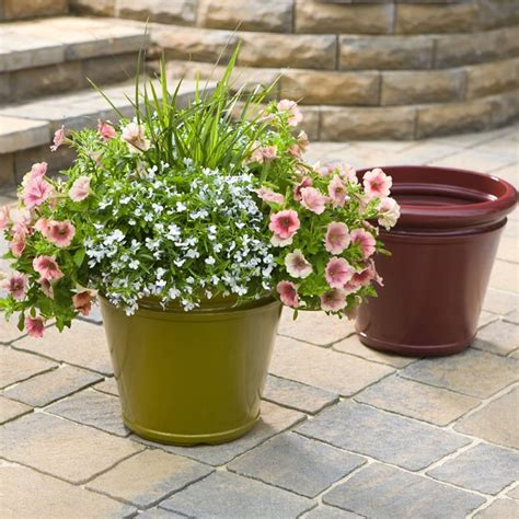 lowes garden containers how to plant a container garden