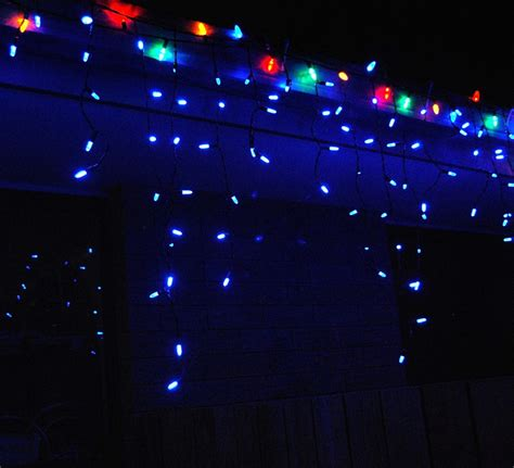 led christmas lights icicle lights led light strings