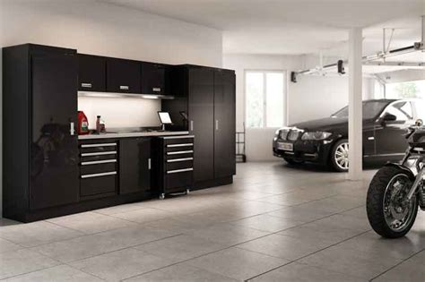 and black garage cabinets gallery of garage shop aluminum cabinets moduline