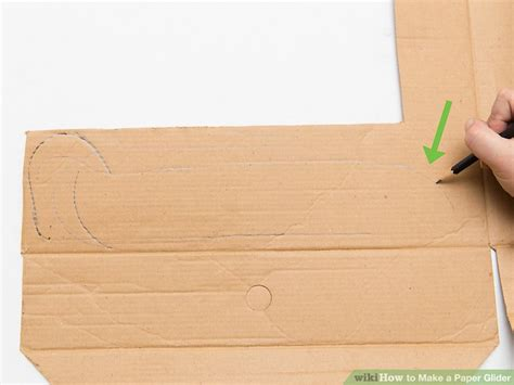 How To Make Gliders Out Of Paper - 3 ways to make a paper glider wikihow