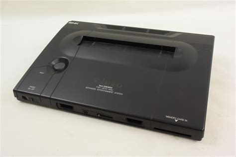 neo geo aes console neo geo aes console system ref 056932 working tested japan
