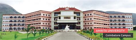 Mba B School In Coimbatore by Amrita Vishwa Vidyapeetham School Of Engineering
