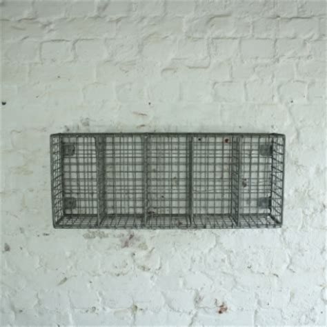 Wire Mesh Shelf by Vintage Wire Mesh Shelf Rack Lovely And Company