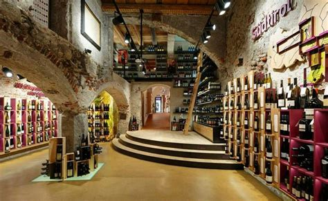 retail design wine store bws liquor store alcohol store in italy retail design