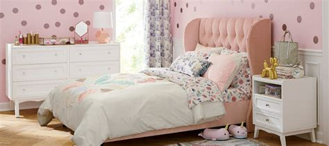 girls bedroom inspiration crate  barrel