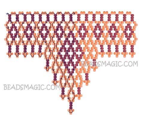 beading blogs free pattern for necklace brulee magic bloglovin