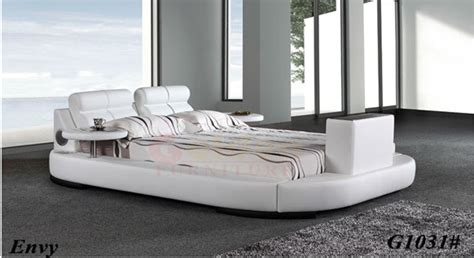 Bed With Tv In Footboard For Sale king size leather bed with tv in footboard tv beds frames