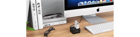 Orico Aluminum 4 Port Usb 30 Ultra Mini Hub With 33ft Usb 30 Cable orico 4 port usb3 0 ultra mini hub dh4u u3