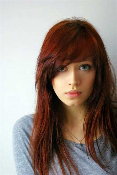 hairstyles with swoop bangs best hairstyles with side swept bangs hairstyles
