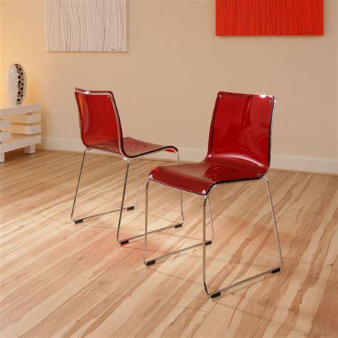 modern acrylic furniture dining chair chairs set of 2 acrylic modern 53 ebay