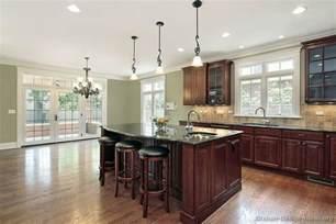 Dark Wood Kitchen Cabinets by Pictures Of Kitchens Traditional Dark Wood Kitchens